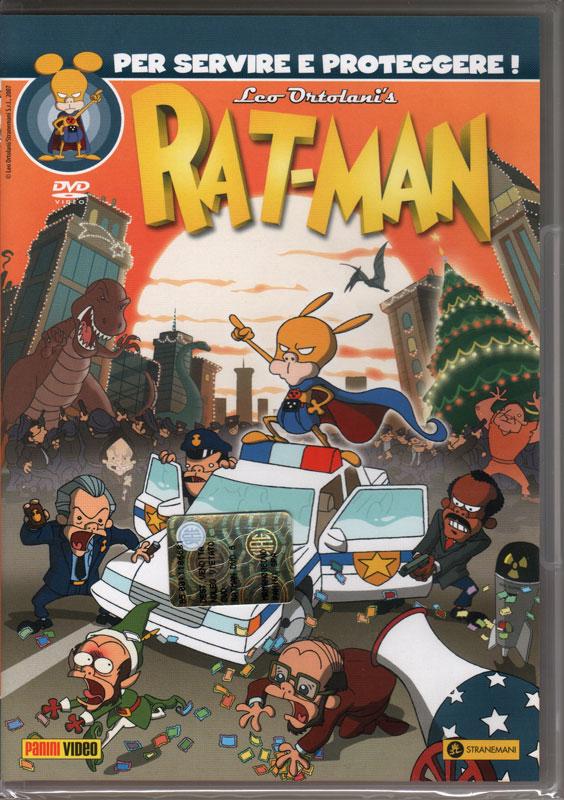 È uscito il quinto DVD di Rat-Man