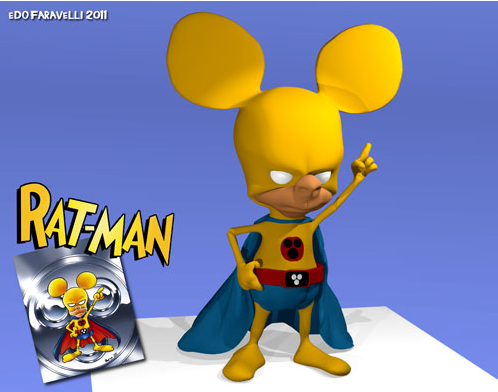 Il Rat-Man in 3D…