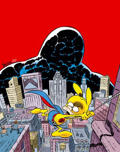 La copertina di Rat-Man Gigante 37