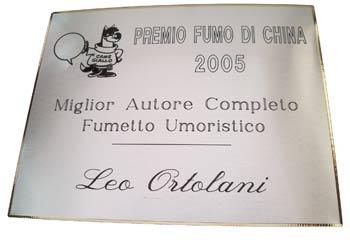 Leo Ortolani vince un premio FdC