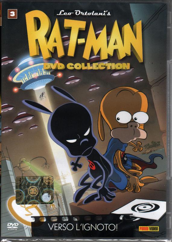 Uscito il terzo dvd del cartone official rat man home page