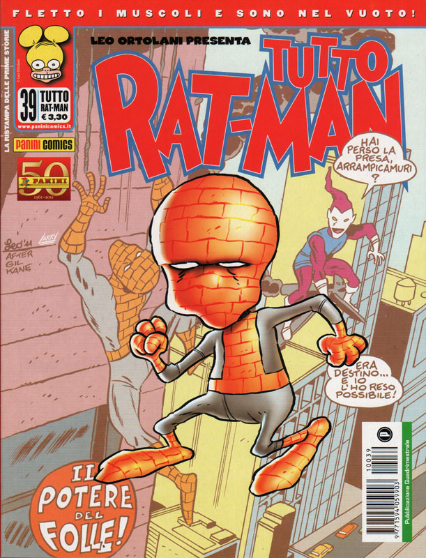 Uscito Tutto Rat-Man 39