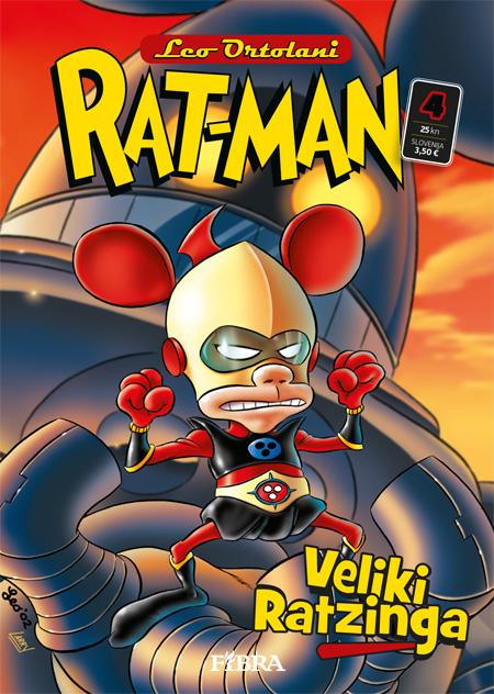Uscito il quarto numero del Rat-Man croato