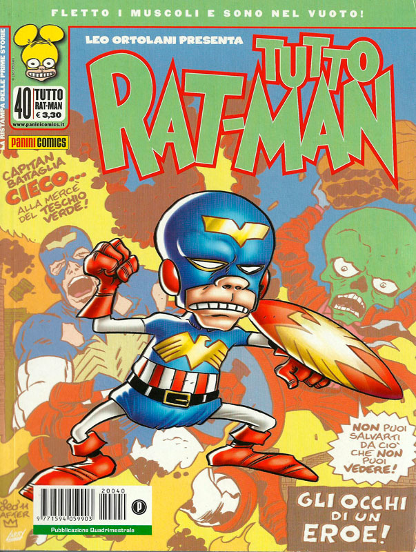Uscito Tutto Rat-Man 40