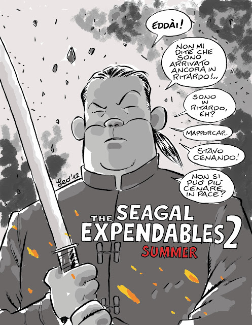 Ortolani omaggia The Expendables 2