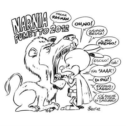 Leo Ortolani miglior scrittore a Narnia Fumetto 2012