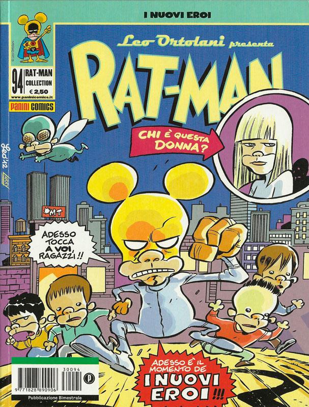 Rat-Man n° 94 - I nuovi eroi
