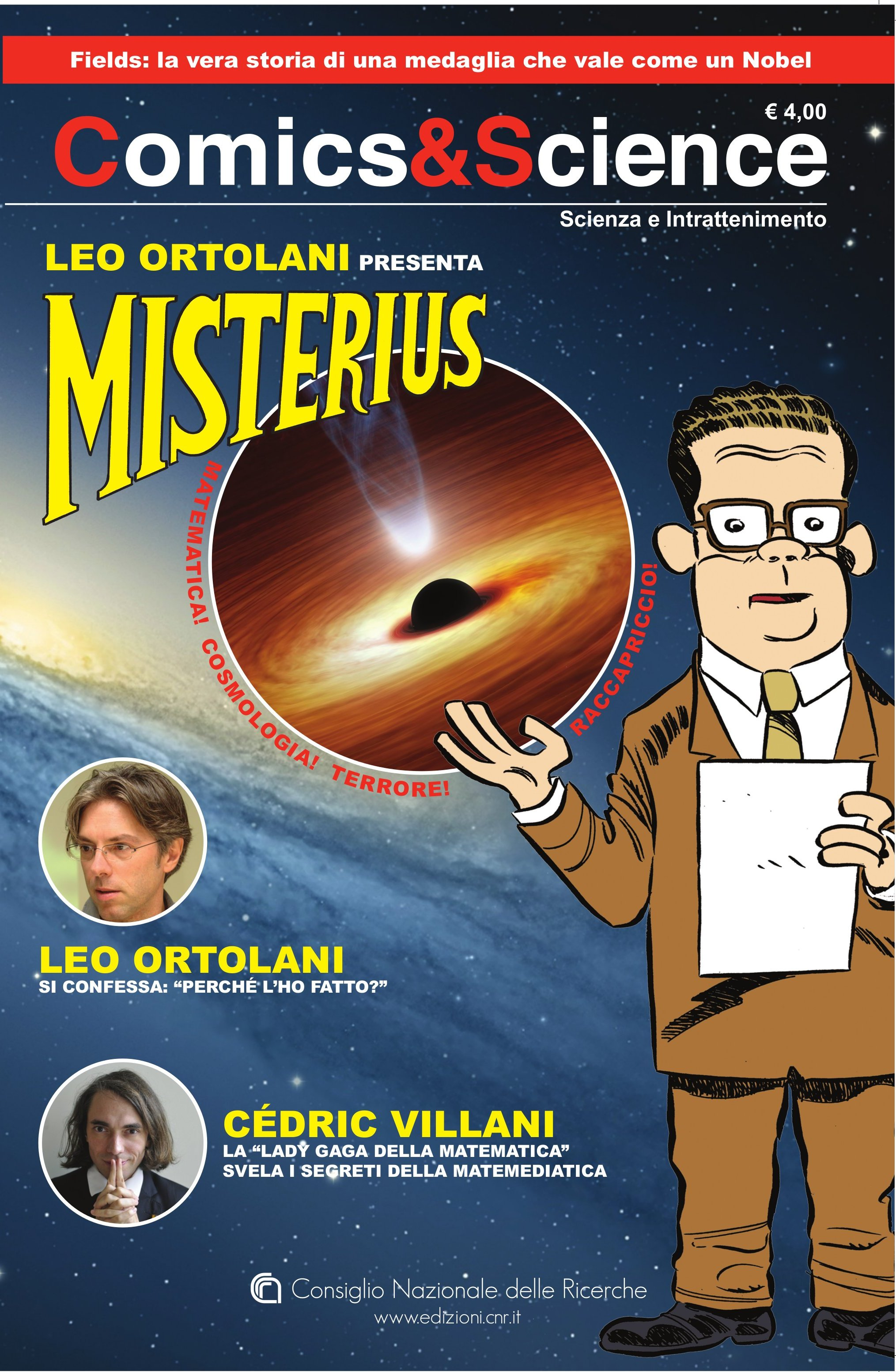 Dove trovare Comics Science – Misterius
