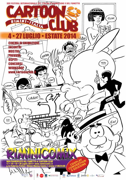 99 litografie di RiminiComix a Lucca
