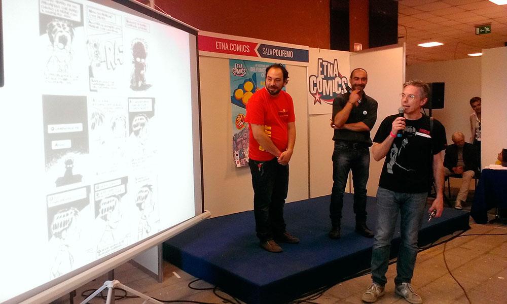 Ortolani premiato a Etna Comics