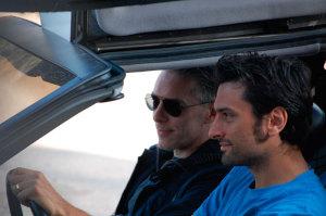 Leo Ortolani nella DeLorean