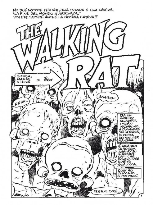 L'anteprima di The Walking Rat
