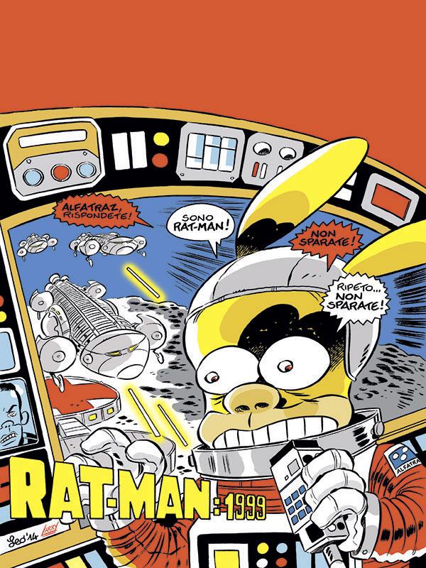 La copertina di rat man gigante official home
