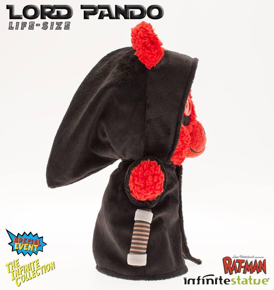 Il peluche di lord pando official rat man home page