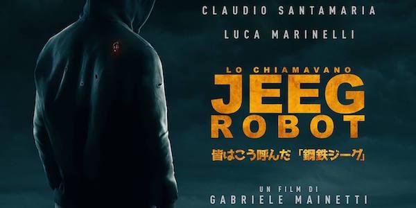 Copertina di Ortolani su Lo chiamavano Jeeg Robot