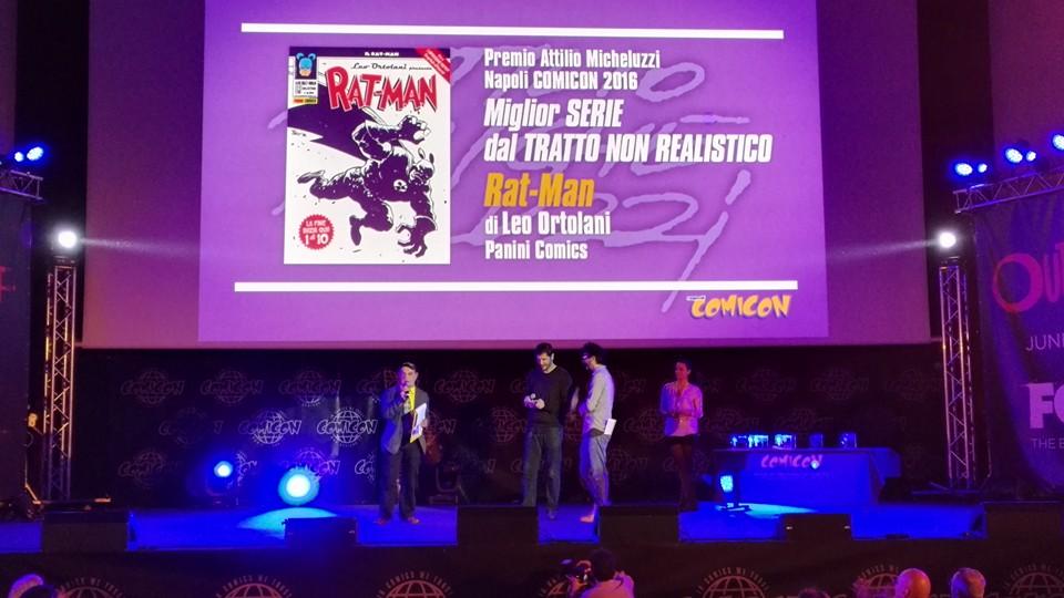 Premio Micheluzzi a Rat-Man