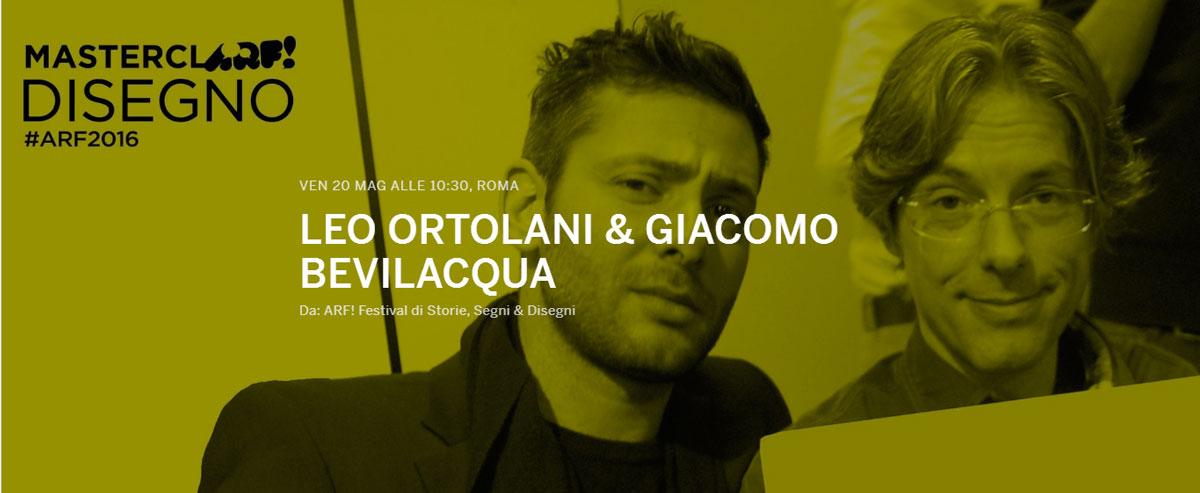 Masterclass di Ortolani e Bevilacqua all'Arf