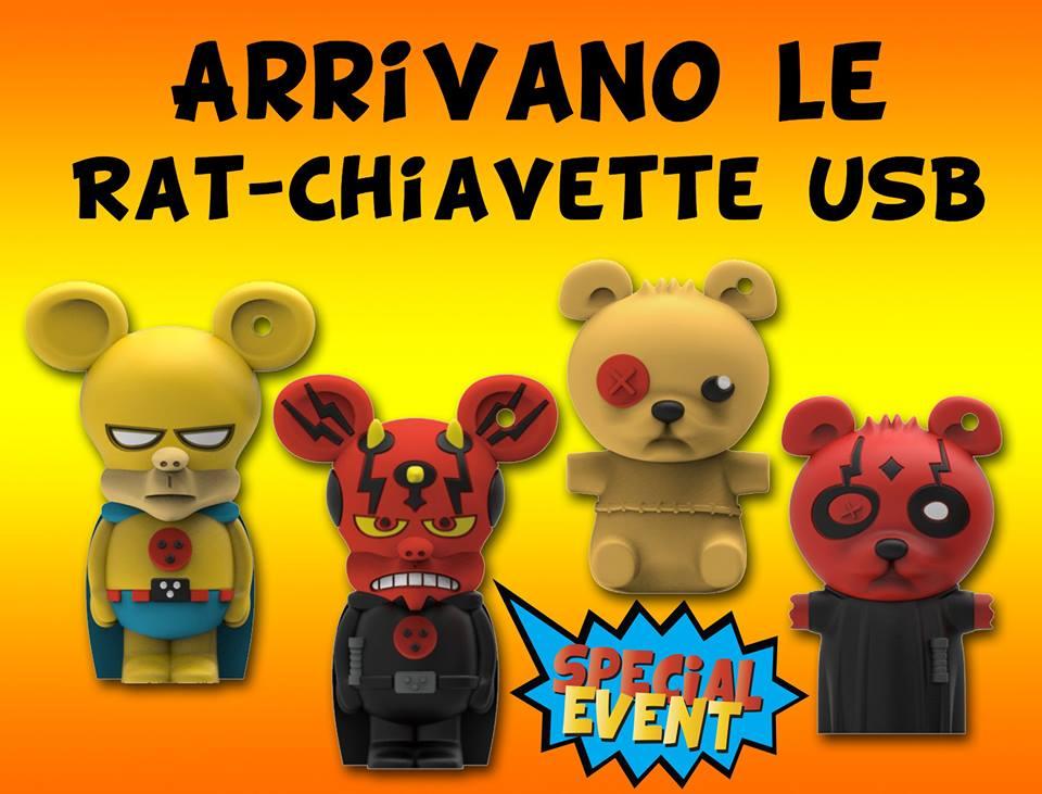 A Lucca le Rat-chiavette USB
