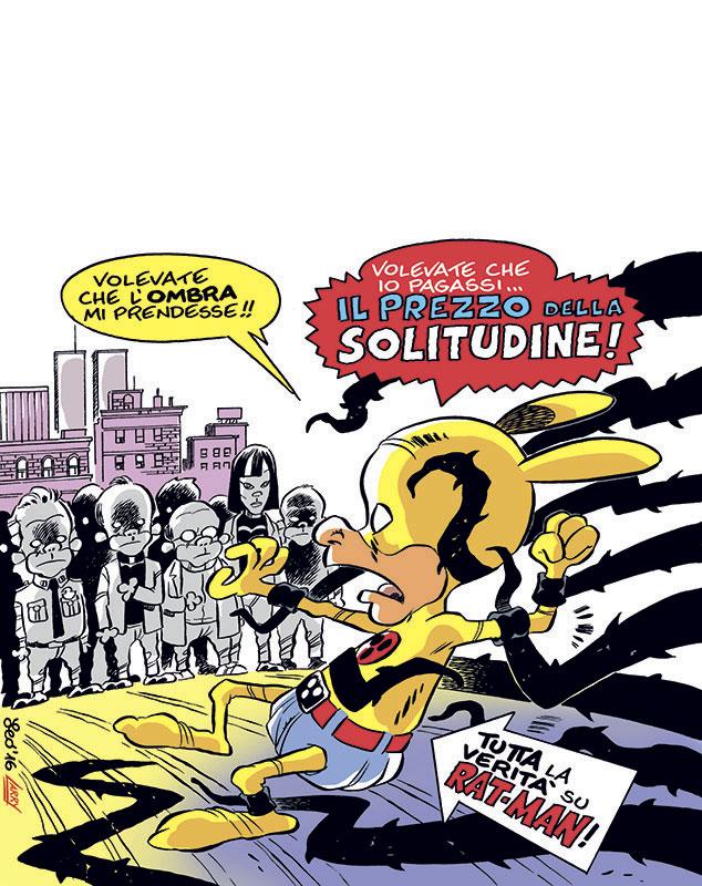 La copertina di Rat-Man Collection 117
