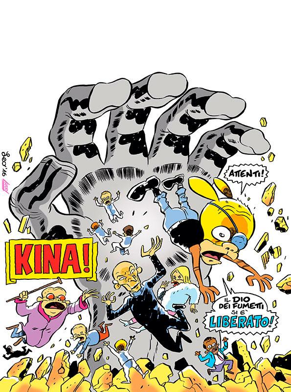 La copertina di Rat-Man Gigante 33