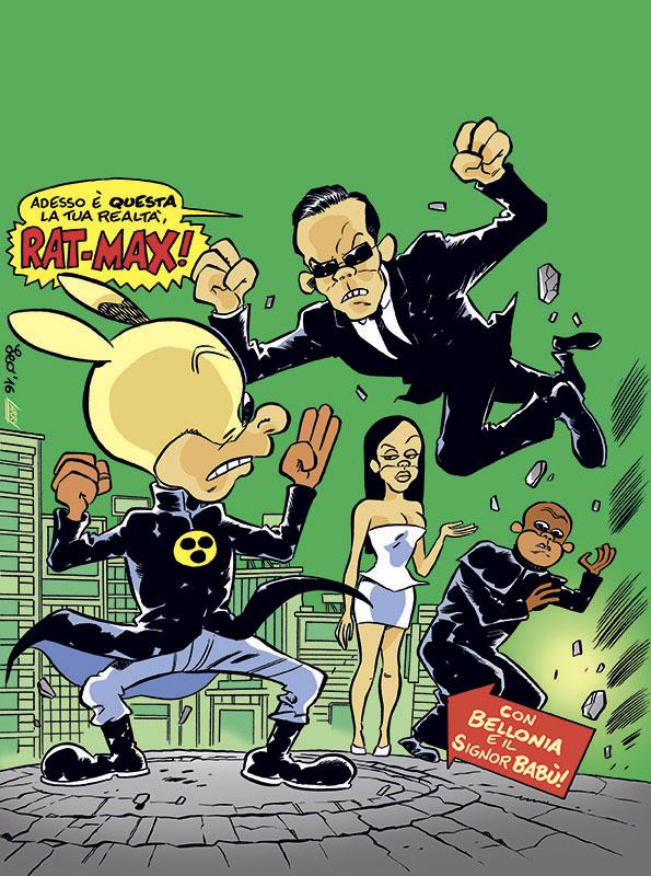 La copertina di Rat-Man Gigante 34