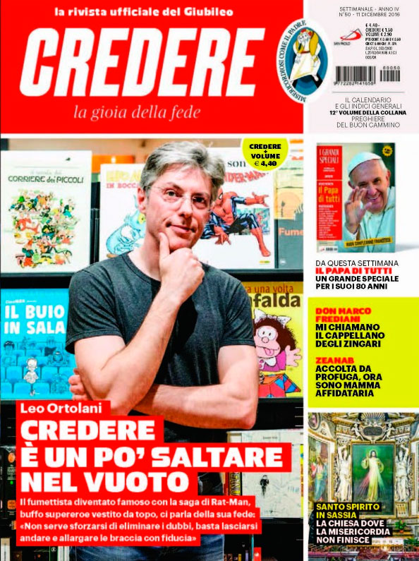 Credere intervista Leo Ortolani