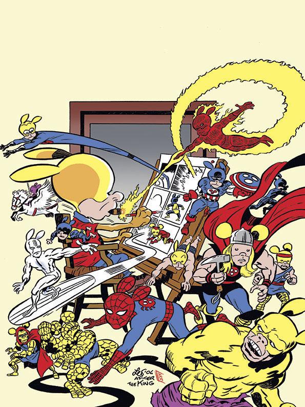 La copertina di Rat-Man Gigante 36