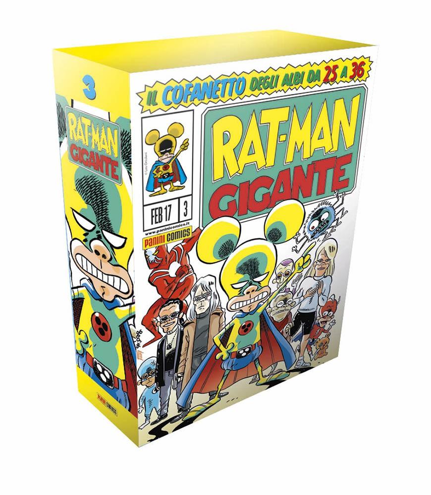 Uscito il terzo cofanetto di Rat-Man Gigante