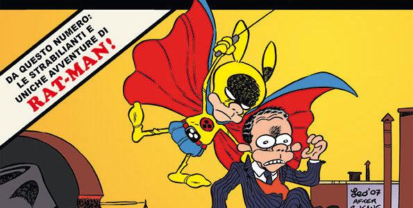 La copertina di Rat-Man Gigante 45