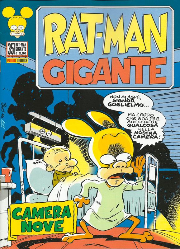 Uscito Rat-Man Gigante 35