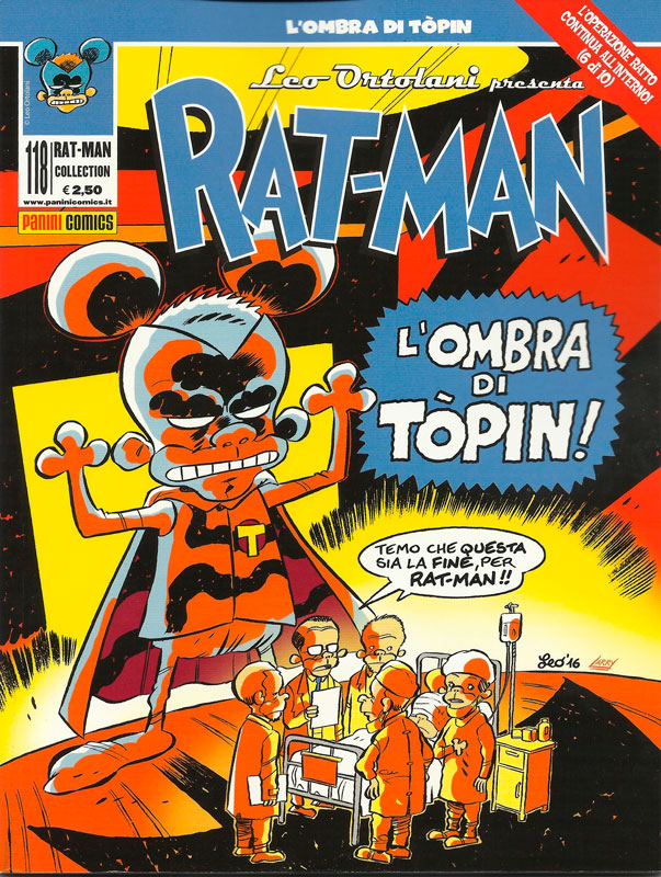 Uscito Rat-Man 118