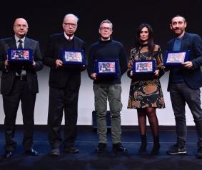 Leo Ortolani premiato con la targa Spazio Cinema