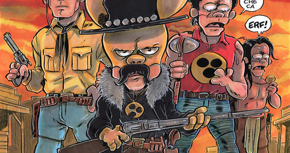 Cronaca di Topolinia con copertina di Ortolani a Lucca Comics