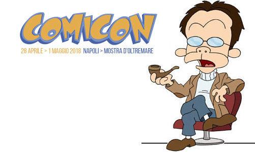 Gli orari di Ortolani alla Comicon di Napoli