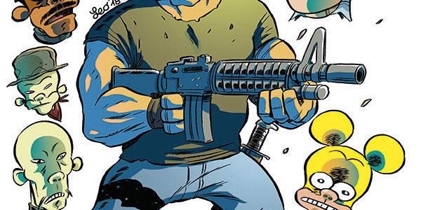 La copertina di Rat-Man Gigante 56