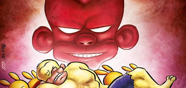 La copertina di Tutto Rat-Man 60