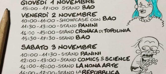 Gli appuntamenti di Leo Ortolani a Lucca Comics