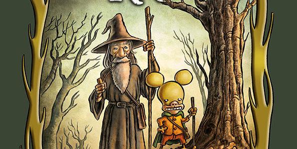 La copertina de Il Signore dei Ratti
