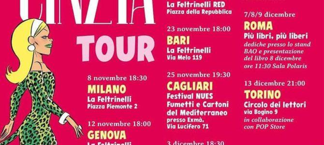 Cinzia in tour