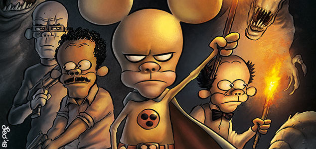 La copertina di Tutto Rat-Man 61