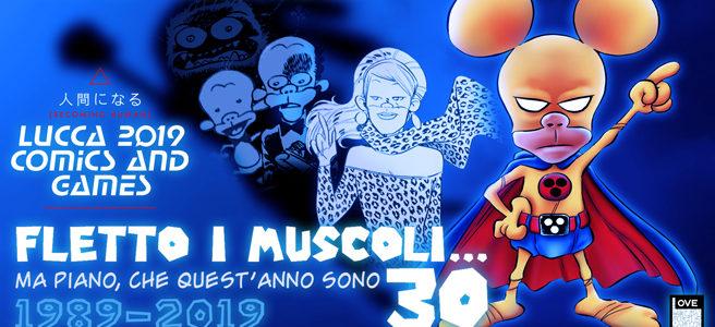 Ulteriori informazioni sullo spettacolo di Cinzia e parata di Rat-Man a Lucca Comics
