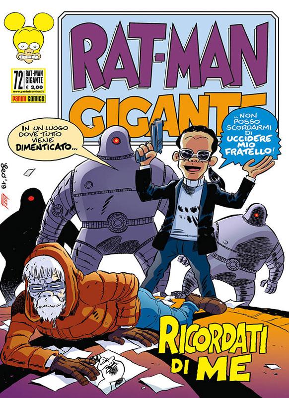 Uscito Rat-Man Gigante 72