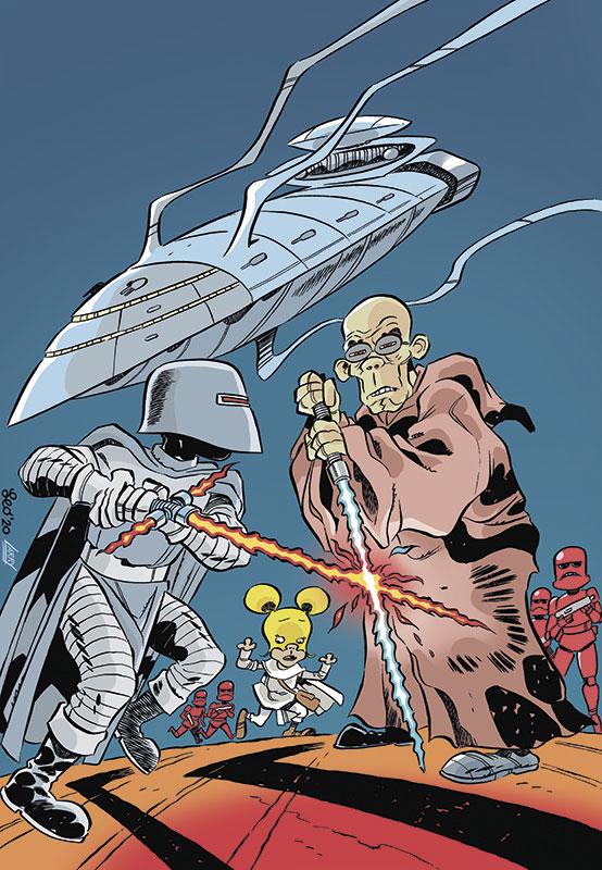 La copertina di Star Rats 4