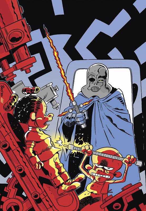 La copertina di Star Rats 5