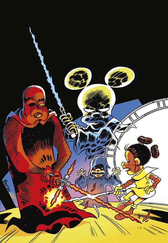 La copertina di Star Rats 6