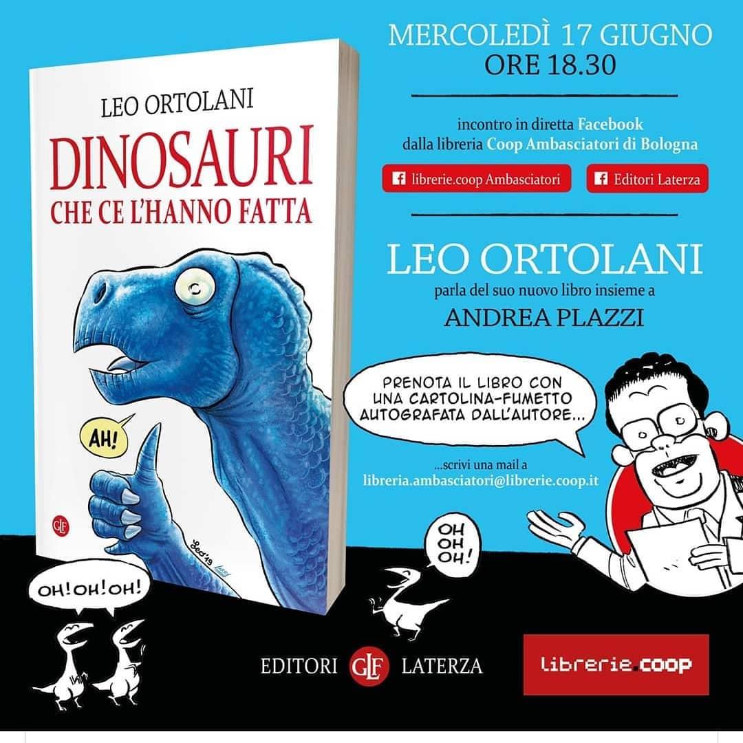 Presentazione fumetto sui dinosauri