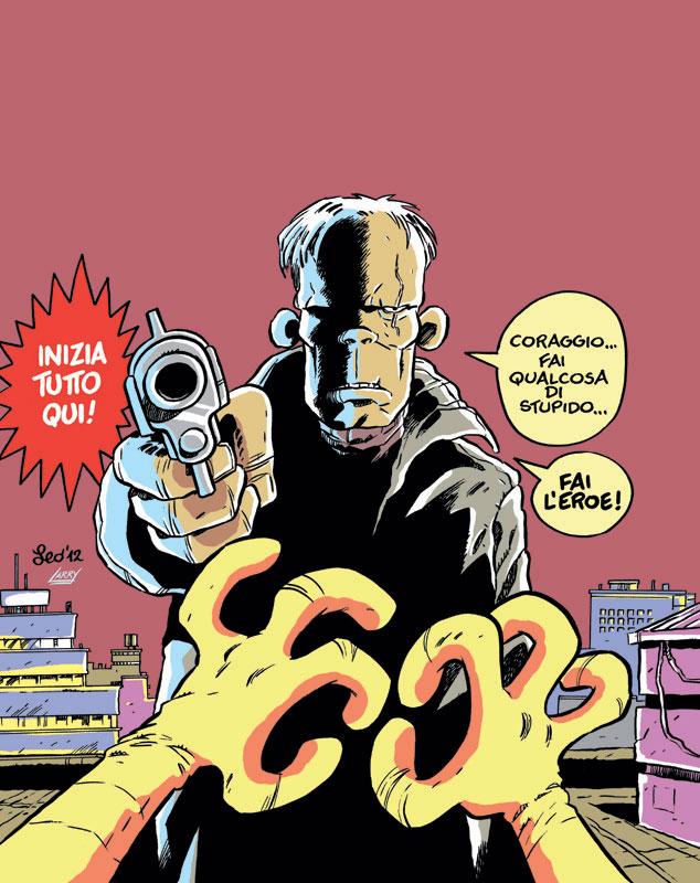 La copertina di Rat-Man Gigante 76