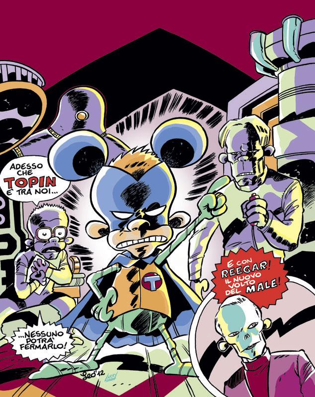 La copertina di Rat-Man Gigante 77