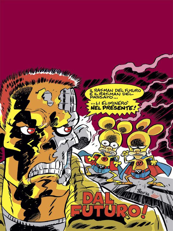 La copertina di rat man gigante official home page